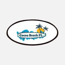 Cocoa Beach - Surf Design. Patches