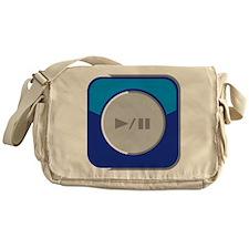 Start/Pause-Symbol Messenger Bag