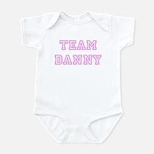 Pink team Danny Infant Bodysuit
