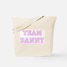 Pink team Danny Tote Bag