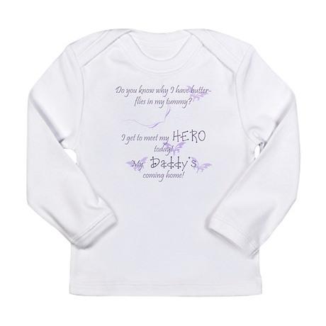 butterflies2.psd Long Sleeve T-Shirt