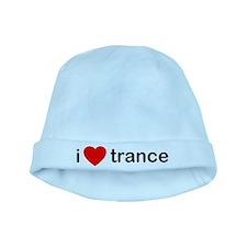 I Love Trance DJ baby hat