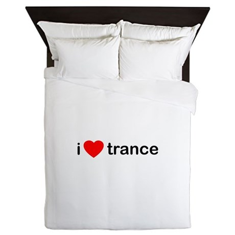 I Love Trance DJ Queen Duvet