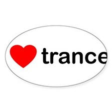 I Love Trance DJ Decal