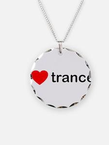 I Love Trance DJ Necklace