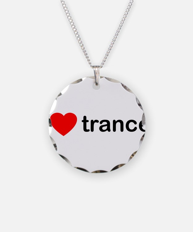 I Love Trance DJ Necklace