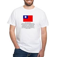 Taiwan White T