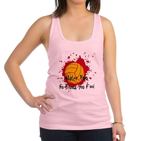 No Blood No Foul Racerback Tank Top