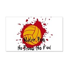 No Blood No Foul Wall Decal