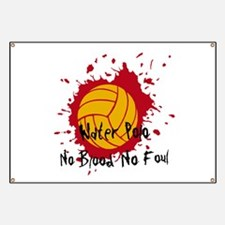 No Blood No Foul Banner