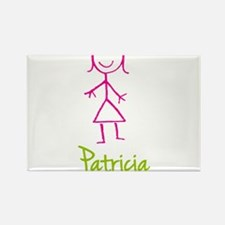 Patricia-cute-stick-girl.png Rectangle Magnet
