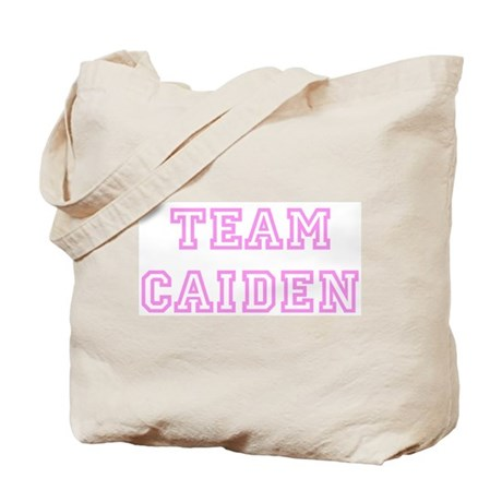 Pink team Caiden Tote Bag
