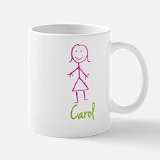 Carol-cute-stick-girl.png Mug