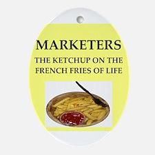 marketing Ornament (Oval)