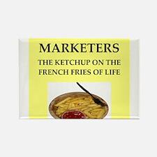 marketing Rectangle Magnet