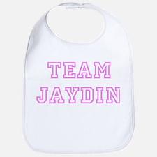 Pink team Jaydin Bib