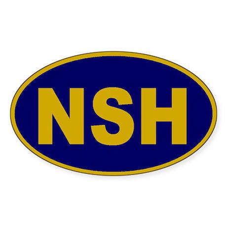 Nashville, Tennessee Oval Sticker
