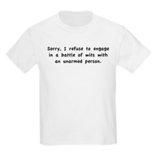 Unarmed Person T-Shirt