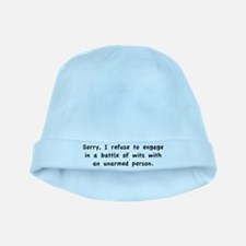 Unarmed Person baby hat