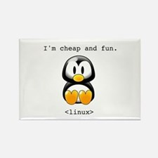 Linux - Cheap and Fun Rectangle Magnet