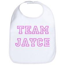 Pink team Jayce Bib