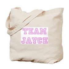 Pink team Jayce Tote Bag
