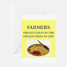 farmer Greeting Card