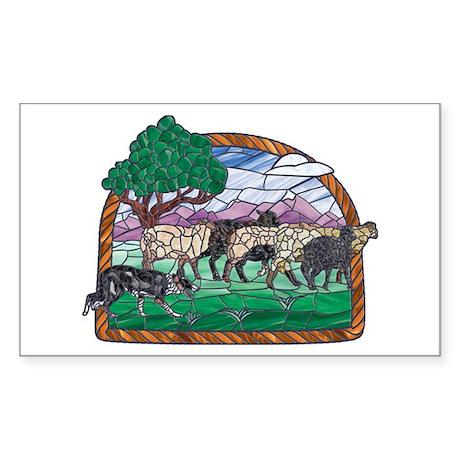 BC (Tri) & Sheep Widow Sticker