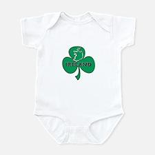 Ireland Shamrock Infant Bodysuit