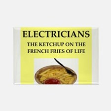 electrician Rectangle Magnet