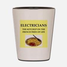 electrician Shot Glass