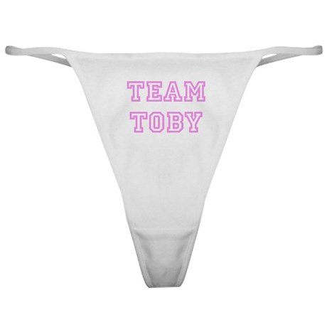 Pink team Toby Classic Thong