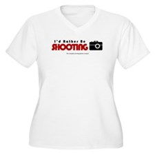 Id rather be shooting T-Shirt