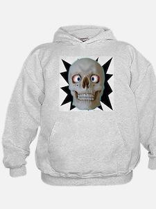 Halloween Cross-Eyed Skull Hoodie