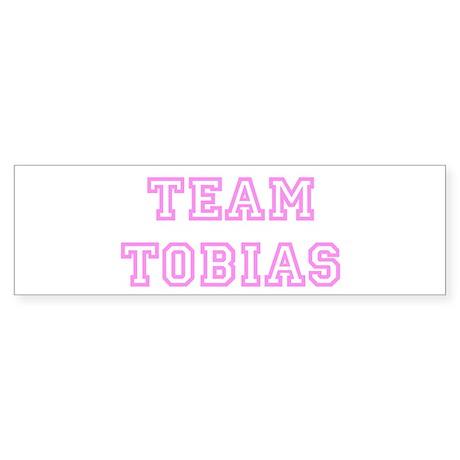 Pink team Tobias Bumper Sticker