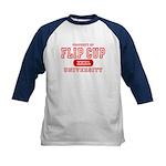 Flip Cup University Kids Baseball Jersey