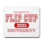Flip Cup University Mousepad