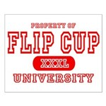 Flip Cup University Small Poster