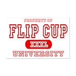 Flip Cup University Mini Poster Print