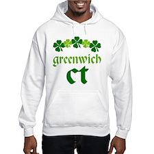 Greenwich Connecticut Irish Hoodie
