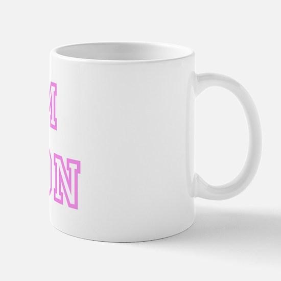 Pink team Jaxson Mug