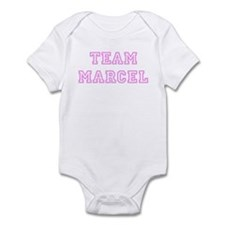 Pink team Marcel Infant Bodysuit