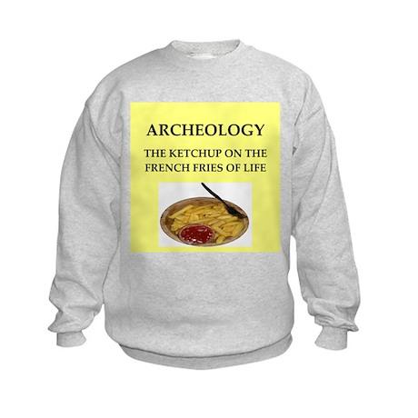 archaeology Kids Sweatshirt