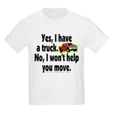 Yes/No Truck. T-Shirt