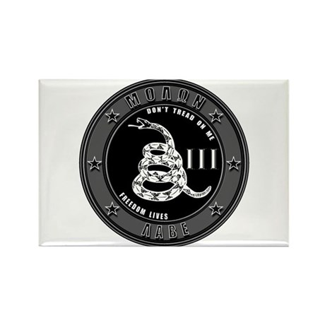 Don't Tread On Me! Rectangle Magnet