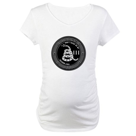 Don't Tread On Me! Maternity T-Shirt