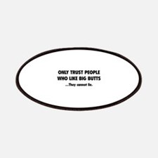 Only Trust People Patches