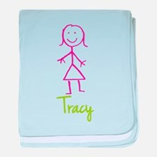 Tracy-cute-stick-girl.png baby blanket