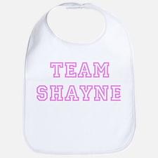 Pink team Shayne Bib
