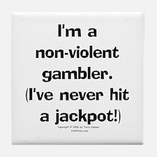 N-V. Gambler Tile Coaster